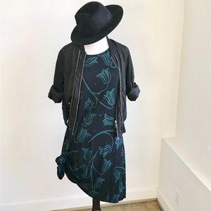LOFT Floral Shift Sleeveless Dress